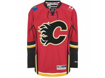 Dres Calgary Flames Reebok Premier Jersey Home