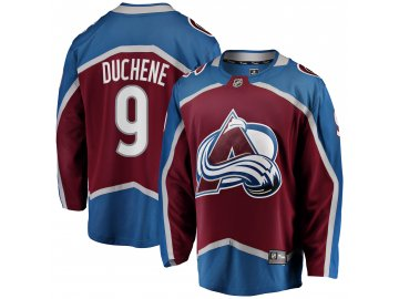 Dres Colorado Avalanche #9 Matt Duchene Fanatics Branded Breakaway Home