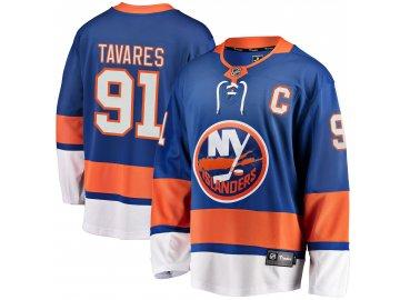 Dres New York Islanders #91 John Tavares Fanatics Branded Breakaway Home