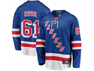 Dres New York Rangers #61 Rick Nash Fanatics Branded Breakaway Home