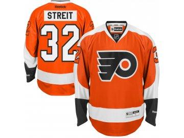 Dres Philadelphia Flyers #32 Mark Streit ReebokPremier Jersey Home