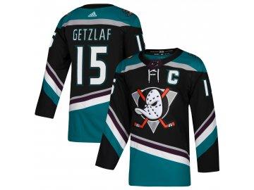 Dres Anaheim Ducks #15 Ryan Getzlaf adizero Alternate Authentic Player Pro