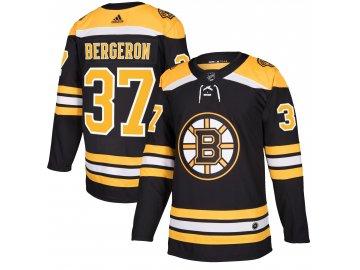 Dres Boston Bruins #37 Patrice Bergeron adizero Home Authentic Player Pro