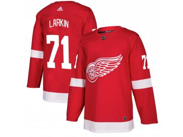 Dres Detroit Red Wings #71 Dylan Larkin adizero Home Authentic Player Pro