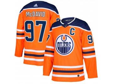 Dres Edmonton Oilers #97 Connor McDavid adizero Home Authentic Player Pro