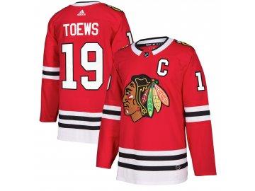 Dres Chicago Blackhawks #19 Jonathan Toews adizero Home Authentic Player Pro