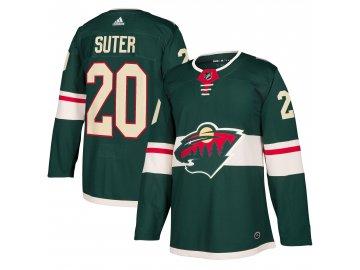 Dres Minnesota Wild #20 Ryan Suter adizero Home Authentic Player Pro