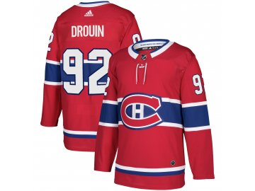 Dres Montreal Canadiens #92 Jonathan Drouin adizero Home Authentic Player Pro