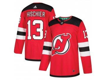 Dres New Jersey Devils #13 Nico Hischier adizero Home Authentic Player Pro
