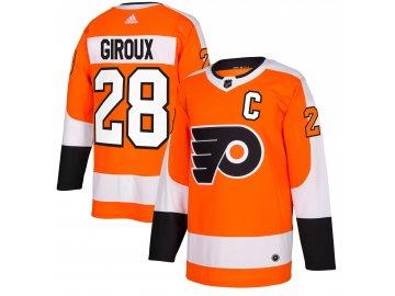 Dres Philadelphia Flyers #28 Claude Giroux adizero Home Authentic Player Pro
