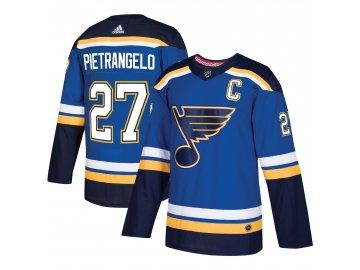Dres St. Louis Blues #27 Alex Pietrangelo adizero Home Authentic Player Pro