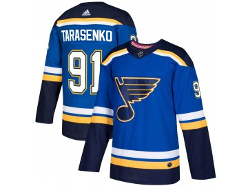 Dres St. Louis Blues #91 Vladimir Tarasenko adizero Home Authentic Player Pro