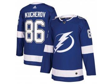 Dres Tampa Bay Lightning #86 Nikita Kucherov adizero Home Authentic Player Pro