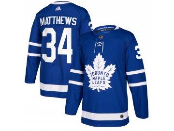 Dres Toronto Maple Leafs #34 Auston Matthews adizero Home Authentic Player Pro