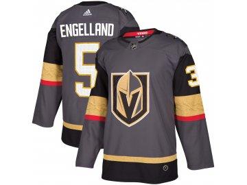 Dres Vegas Golden Knights #5 Deryk Engelland adizero Home Authentic Player Pro