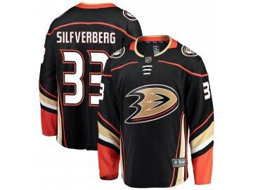 Dres Anaheim Ducks #33 Jakob Silfverberg Breakaway Home Jersey