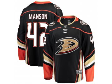 Dres Anaheim Ducks #42 Josh Manson Breakaway Home Jersey