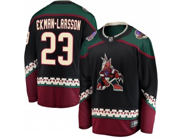 Dres Arizona Coyotes #23 Oliver Ekman-Larsson Breakaway Alternate Jersey