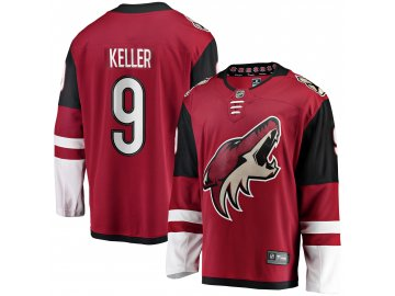 Dres Arizona Coyotes #9 Clayton Keller Breakaway Alternate Jersey