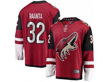 Dres Arizona Coyotes #32 Antti Raanta Breakaway Alternate Jersey