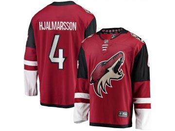 Dres Arizona Coyotes #4 Niklas Hjalmarsson Breakaway Alternate Jersey