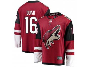 Dres Arizona Coyotes #16 Max Domi Breakaway Alternate Jersey