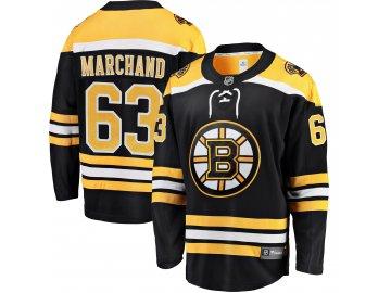 Dres Boston Bruins #63 Brad Marchand Breakaway Alternate Jersey