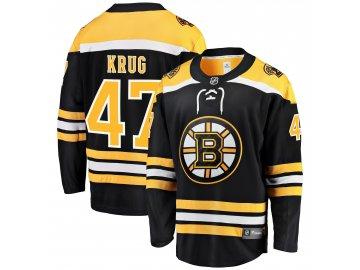 Dres Boston Bruins #47 Torey Krug Breakaway Alternate Jersey