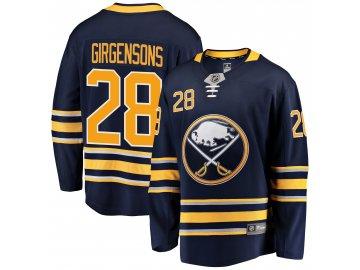 Dres Buffalo Sabres #28 Zemgus Girgensons Breakaway Alternate Jersey