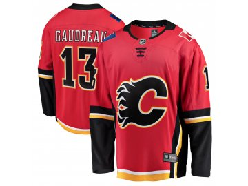 Dres Calgary Flames #13 Johnny Gaudreau Breakaway Alternate Jersey