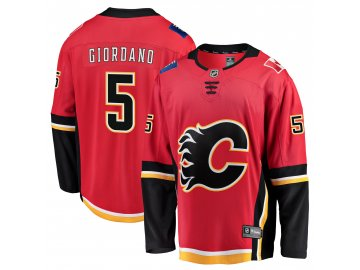 Dres Calgary Flames #5 Mark Giordano Breakaway Alternate Jersey