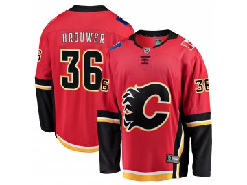 Dres Calgary Flames #36 Troy Brouwer Breakaway Alternate Jersey