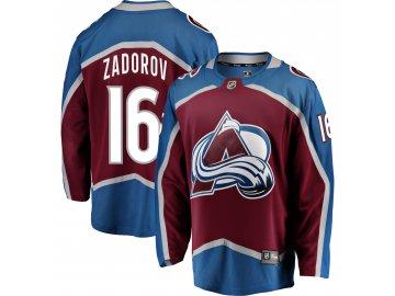 Dres Colorado Avalanche #16 Nikita Zadorov Breakaway Alternate Jersey
