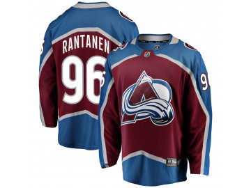 Dres Colorado Avalanche #96 Mikko Rantanen Breakaway Alternate Jersey