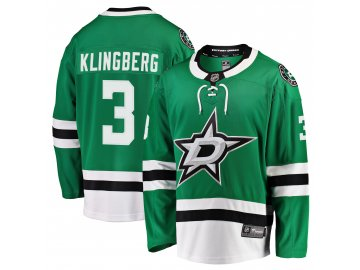 Dres Dallas Stars #3 John Klingberg Breakaway Alternate Jersey