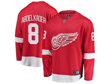Dres Detroit Red Wings #8 Justin Abdelkader Breakaway Alternate Jersey