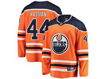Dres Edmonton Oilers #44 Zack Kassian Breakaway Alternate Jersey