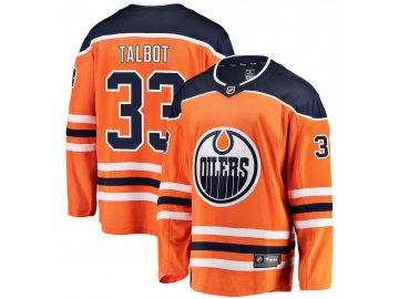 Dres Edmonton Oilers #33 Cam Talbot Breakaway Alternate Jersey