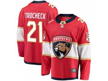 Dres Florida Panthers #21 Vincent Trocheck Breakaway Alternate Jersey