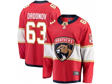 Dres Florida Panthers #63 Evgenii Dadonov Breakaway Alternate Jersey