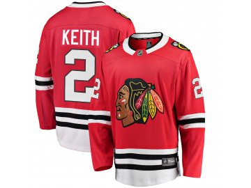 Dres Chicago Blackhawks #2 Duncan Keith Breakaway Alternate Jersey