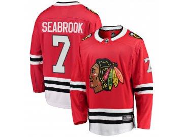 Dres Chicago Blackhawks #7 Brent Seabrook Breakaway Alternate Jersey