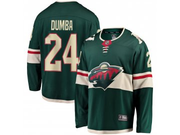 Dres Minnesota Wild #24 Matt Dumba Breakaway Alternate Jersey