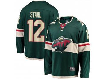 Dres Minnesota Wild #12 Eric Staal Breakaway Alternate Jersey