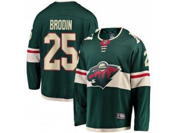 Dres Minnesota Wild #25 Jonas Brodin Breakaway Alternate Jersey