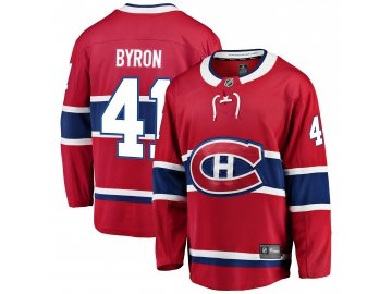 Dres Montreal Canadiens #41 Paul Byron Breakaway Alternate Jersey