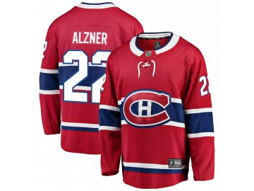 Dres Montreal Canadiens #22 Karl Alzner Breakaway Alternate Jersey