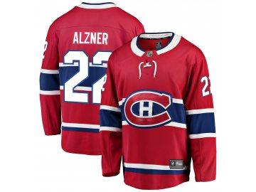 Dres Montreal Canadiens #22 Karl Alzner Breakaway Alternate Jersey