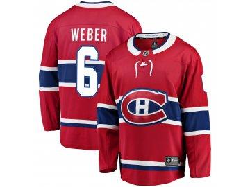 Dres Montreal Canadiens #6 Shea Weber Breakaway Alternate Jersey