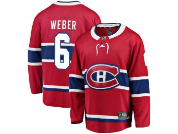 Dres Montreal Canadiens #6 Shea Weber Breakaway Alternate Jersey